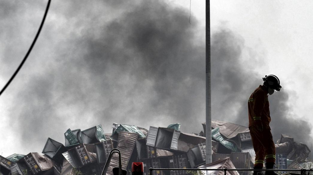 China: Death toll mounts after massive explosion