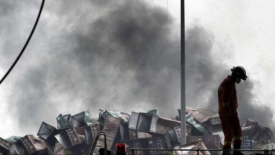 Tianjin'de zehirli kimyasallar sebebiyle 6 bin kişi tahliye ediliyor