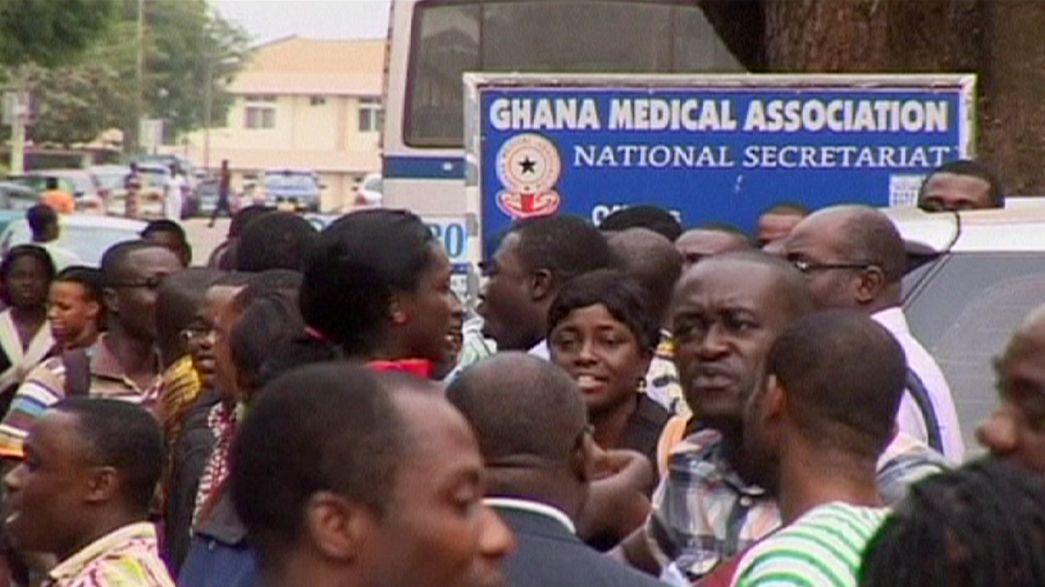 غانا: الأطباء مضربون والمرضى لايجدون من يعالجهم