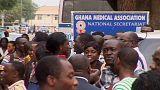 Ärztestreik in Ghana wird fortgesetzt