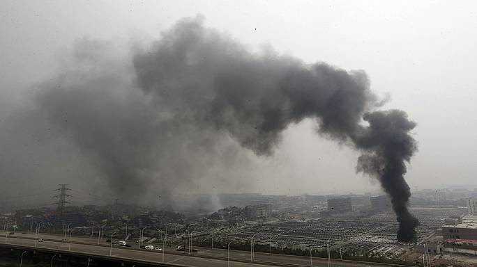 ارتفاع حصيلة ضحايا انفجارات تيانجين إلى 104 أشخاص