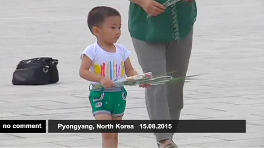 Marking the end of WWII in North Korea
