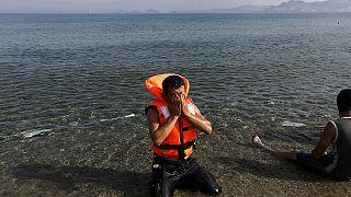Греция: беженцы вместо туристов