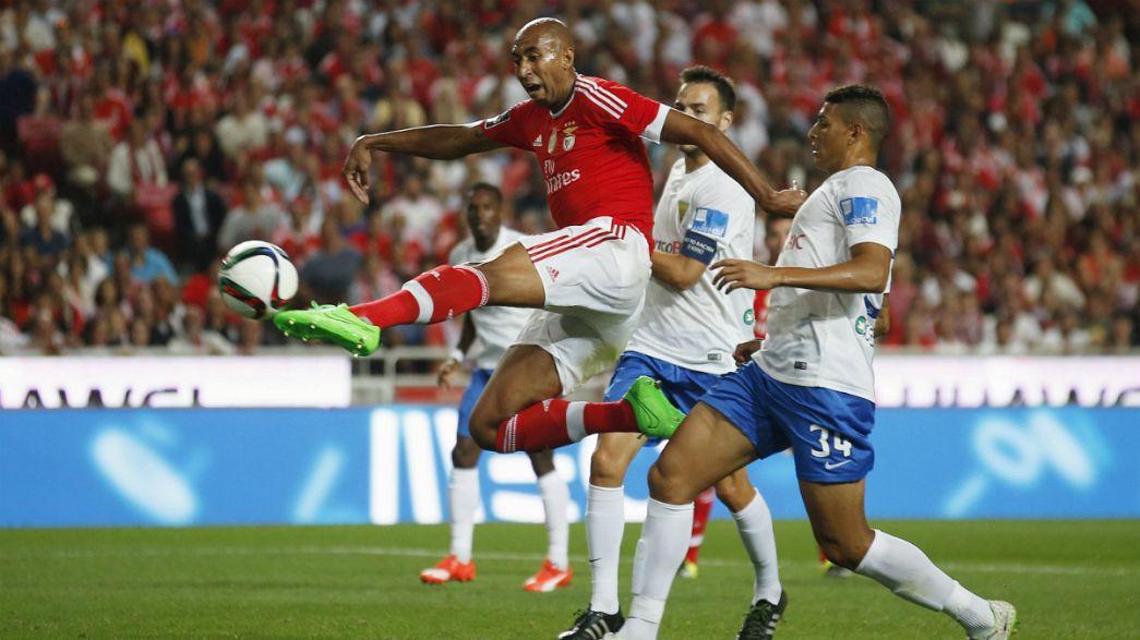 Liga Portuguesa, J1: Benfica goleia Estoril e ultrapassa FC Porto e Sporting nos golos