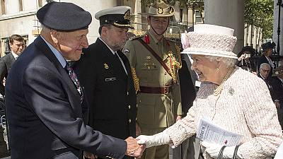 Second World War commemorations take place across the globe