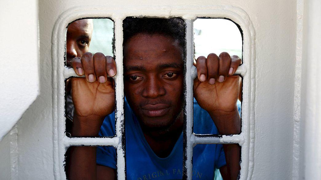 Libya açıklarında göçmen trajedisi: En az 40 ölü