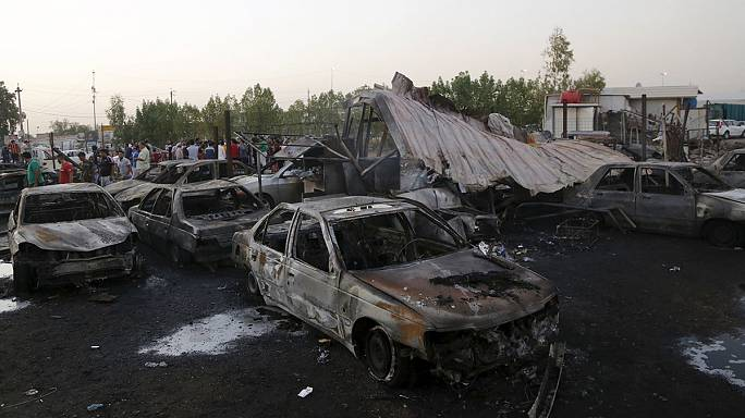 Bombatámadás-sorozat Bagdadban