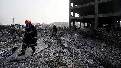 Nunmehr über hundert Tote nach Explosionen von Tianjin