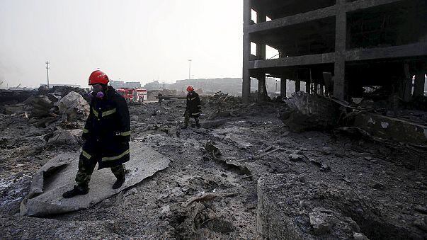 Catastrophe de Tianjin : les quartiers aux alentours sont évacués