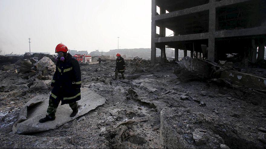Explosões na China: Balanço de mortos já ultrapassa os 110 e há ainda 95 desaparecidos