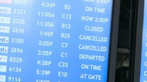 إلغاء أكثر من 400 رحلة جوية في الولايات المتحدة الأمريكية بسبب خلل تقني
