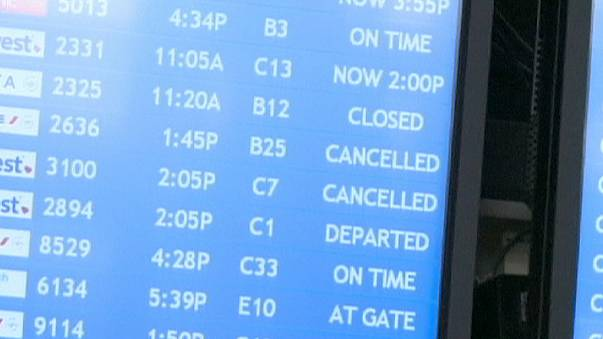 400 US flights grounded by flight tracking system glitch