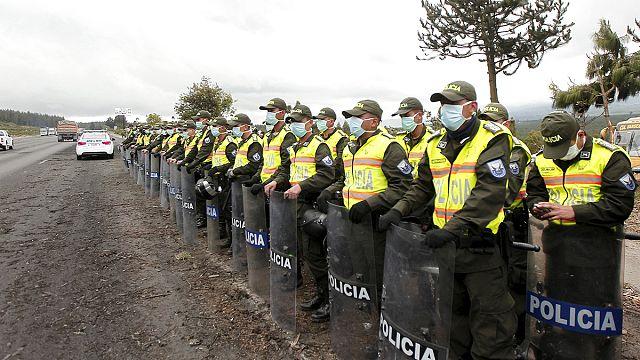 Ecuador evacuation after increased activity around Cotopaxi volcano