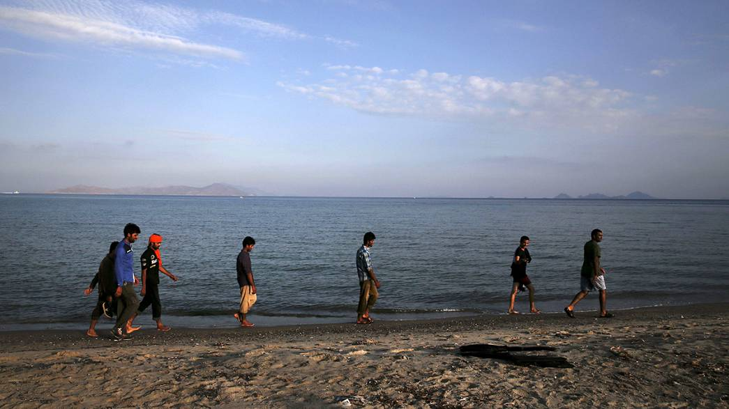 Nő a feszültség Kósz szigetén, elkülönítik a szíriai menekülteket