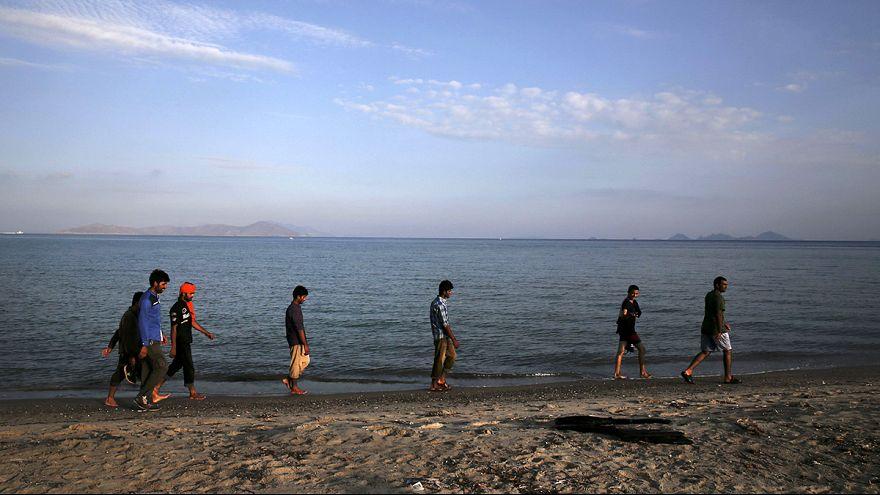 """Isola di Kos: la nave """"Venizelos"""" come centro di accoglienza, tensioni tra i migranti"""