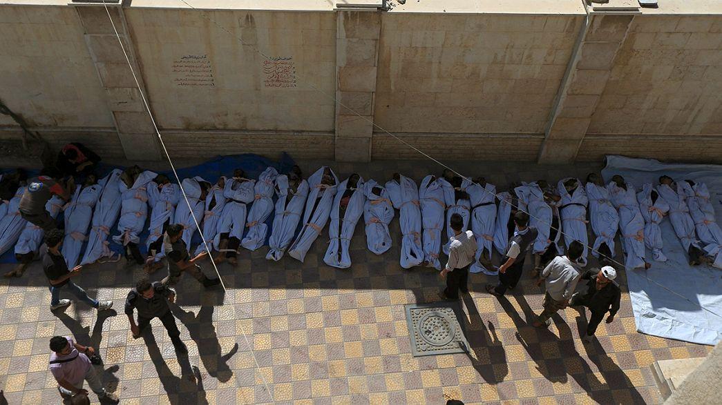 Mehr als 80 Tote nach syrischen Luftschlägen auf Markt in Rebellenhochburg