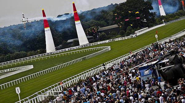 Red Bull Air Race: Bonhomme soars to Ascot victory