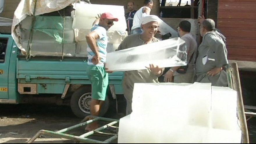 La ola de calor en Egipto se prolonga