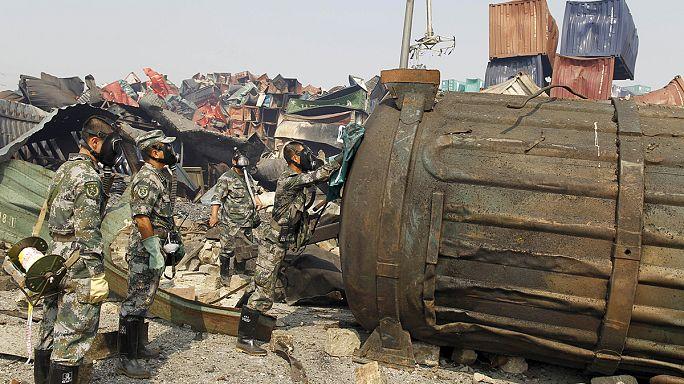 الصين تعمل لتنقية مكان انفجار في تيانجين من مخلفات كيميائية