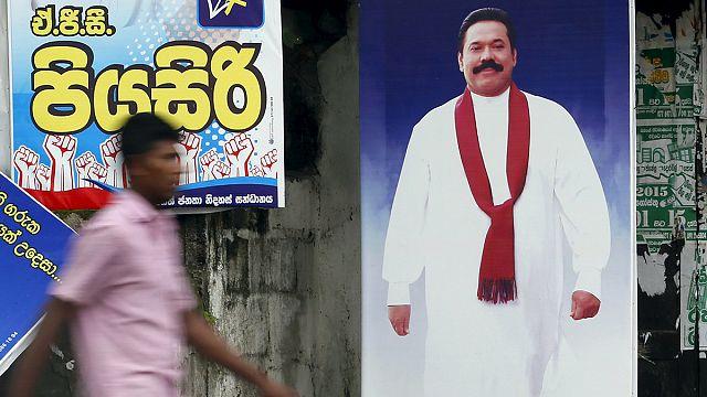 Sri Lanka'da halk sandık başında