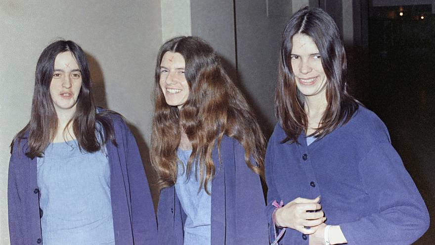 Image: Charles Manson's followers, Susan Atkins, Patricia Krenwinkel and Le