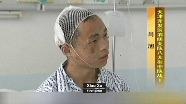 It was like hell: A firefighter who survived Tianjin blast speaks of his experience