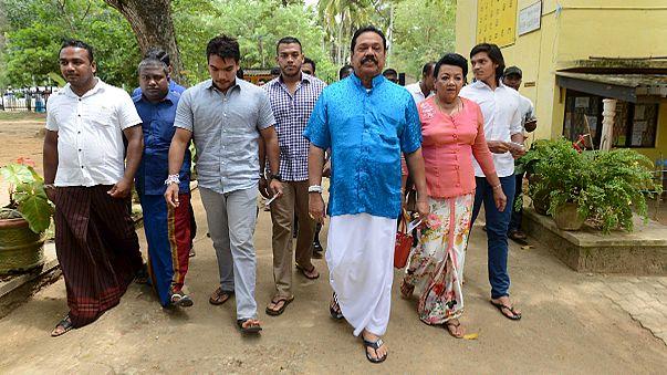 Általános választásokat tartottak Sri Lankán