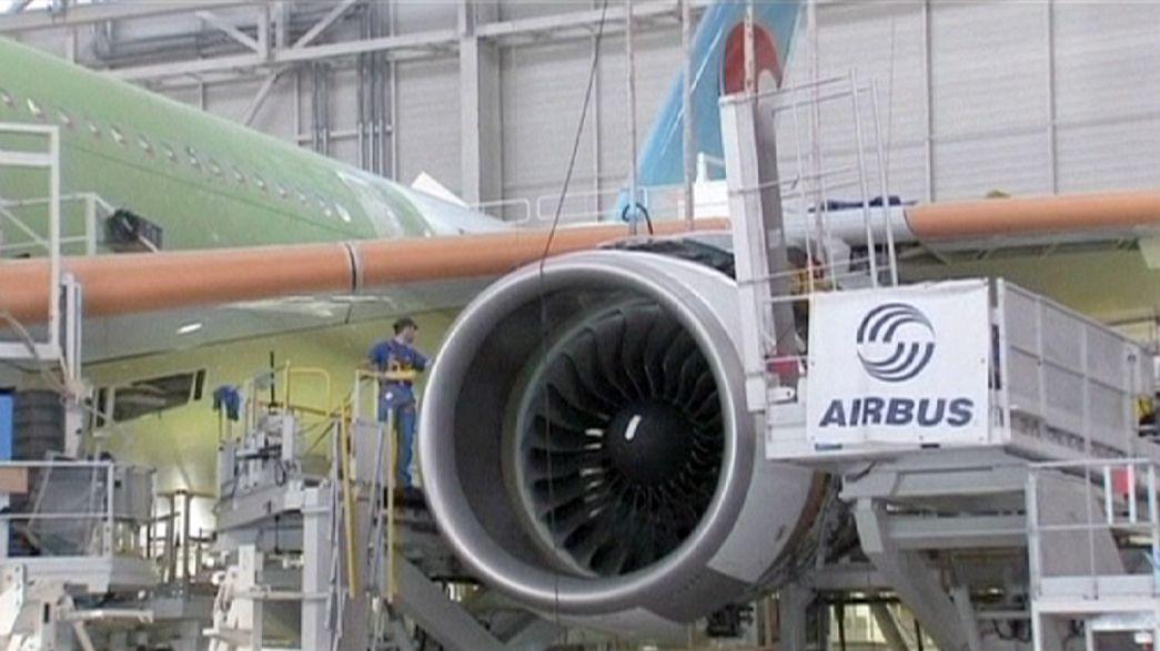 """""""ايرباص"""" تبيع 250 طائرة في أكبر صفقة بتاريخها"""