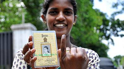 Sri Lanka's voters invited to turn page on fractious past