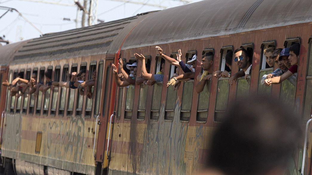 Macedonia, il dramma dei migranti che assaltano i treni
