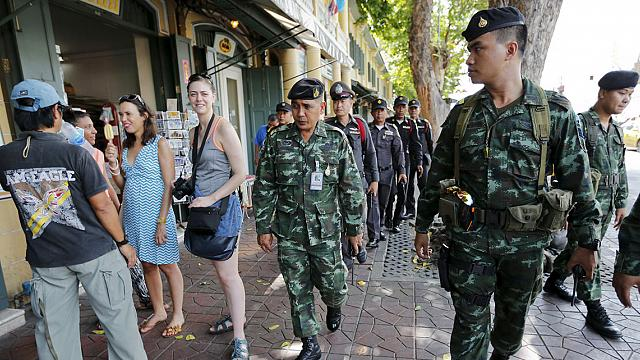 Second bomb explodes in Bangkok after being thrown from bridge