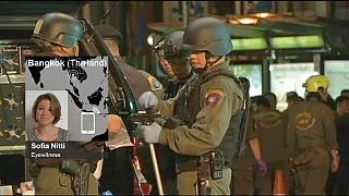 Bangkok patlaması olay yeri tanığı euronews'a konuştu