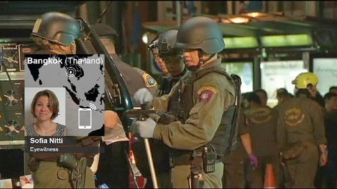 Gyorsan érkeztek a mentők a bangkoki robbantás helyszínére