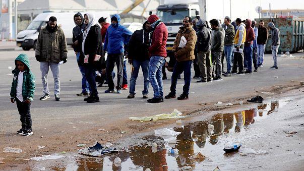 Image: African migrants