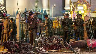 Hajtóvadászat a thaiföldi robbantók után