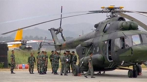 Endonezya'daki uçak kazasında ölenlerin cesetlerine ulaşıldı