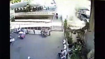 New blast reported in Bangkok