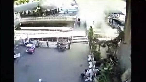 انفجار جديد في بانكوك قرب محطة للمترو