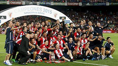 El Athletic se lleva la Supercopa ante el Barcelona y acaba con 31 años de sequía