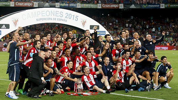 Supercoupe d'Espagne : le trophée pour Bilbao, pas de sextuplé pour le Barça