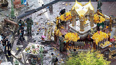 Thailand seeks CCTV bomb suspect as new blast shakes Bangkok