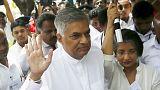 Sri Lanka'da zafer Birleşik Ulusal Cephe'nin