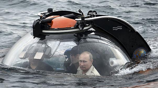 Putin auf Unterwasserexpedition vor der Krim