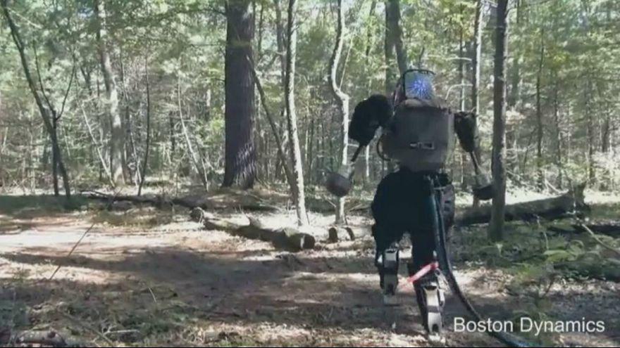 Google robótica: Atlas já corre pela floresta