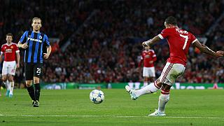Manchester United begin Champions League play-off with victory