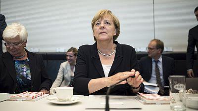 """Merkel enfrenta """"rebelião"""" no partido devido à Grécia"""