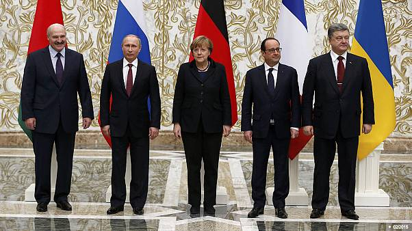 رهبران کشورهای اوکراین، آلمان و فرانسه با یکدیگر دیدار می کنند