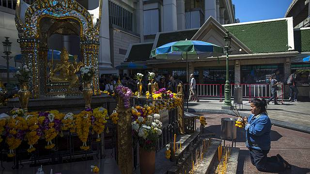 Святилище Эравана в Бангкоке вновь открыто для доступа публики