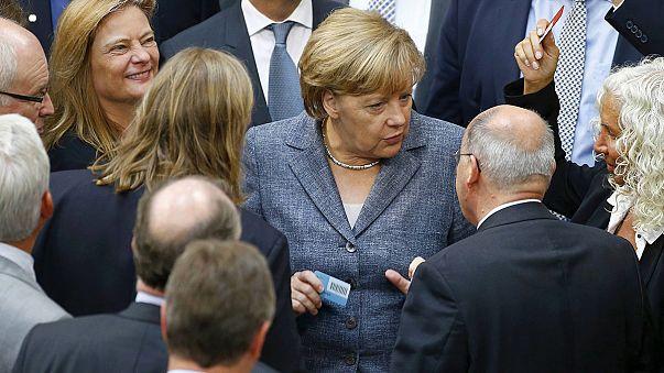 Troisième plan d'aide à la Grèce validé par le Parlement allemand