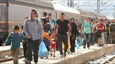 Plus de 107 000 migrants en juillet